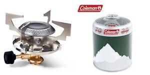 Fishing Stove Camping Cooker + 1 X Coleman C500 Gas cartridge Single Burner