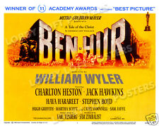 BEN-HUR LOBBY TITLE CARD POSTER 1960 CHARLTON HESTON