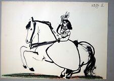 PABLO PICASSO - Toros y toreros. Ed. Cercle d´art 1962 - Edicion limitada- COA