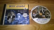 CD JAZZ WILL GLAHE-Everybody Sing (24) canzone PUMPIN pie/Just Rec