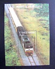 890 ST. THOMAS & PRINCE ISLANDS TRAINS MHM OG (SEE ITEM DESCRIPTION)