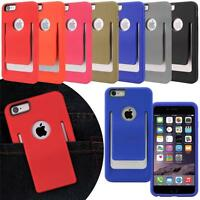 For iPhone 6s Plus / 6s Plus 5.5 Slim Belt Clip TPU Fit Hard Case Cover Skin