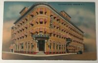 Kingston NY Postcard Stuyvesant Hotel Vintage New York Metrocraft