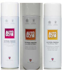 Autoglym Hyper Fresh Spray Car Air Freshner x 3 Assorted Cans