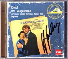 Siegfried JERUSALEM Signiert KIENZL: DER EVANGELIMANN Helen Donath ZAGROSEK 2CD