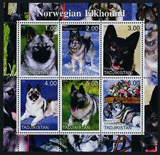 Tajikistan m/s Mnh Dogs, Norwegian Elkhound