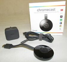 Genuine - Google Chromecast (Latest) HDMI TV Media Streamer NC2-6A5 RF1200