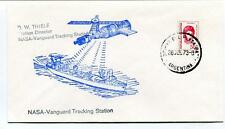 1973 NASA Vanguard Tracking Station Thiele Argentina Space Satellite Shuttle
