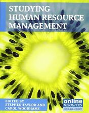 Studying Human Resource Management by Stephen Taylor, Carol Woodhams (Paperback…