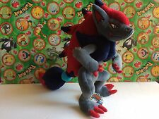 "Pokemon Plush Zoroark Tomy Takara 12"" UFO Japan doll stuffed animal figure"