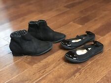 Toddler Girls Dress Shoes Size 8 Lot Of 2 Pairs