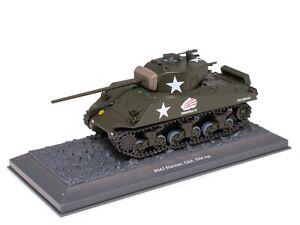 Tank M4A3 Sherman USA (1944) WW2 - 1/43 IXO Deagostini Char Militaire TA19