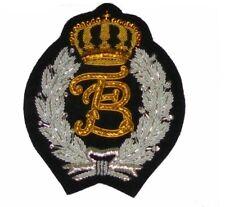 Custom Monogram Cipher Letter Family Name Robe Vest Blazer Suit Crest Id Patch