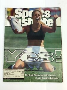 Sports Illustrated Magazine July 19, 1999 YES! Brandi Chastain USWNT World Cup