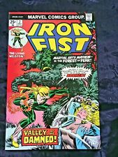 Sharp December 1975 Marvel Iron Fist Comic Book #  2 Early John Byrne Art