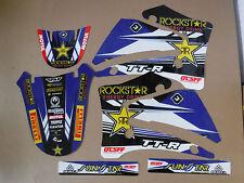 TEAM ROCKSTAR YAMAHA GRAPHICS TTR125 TTR125L 2000 2001 2002 2003 2004 05 06 07