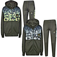 Boys Kids NYC Tracksuit Sports Jogging Bottom & Hoodie Ages 2-13