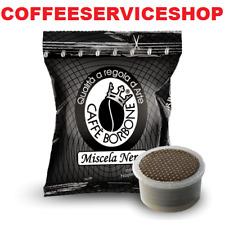 400 CAPSULE CAFFE' BORBONE MISCELA NERA COMPATIBILE LAVAZZA ESPRESSO POINT