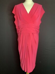 Minuet Petite Ladies Pink Dress Size  16 (A2)