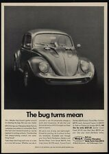 1967 VOLKSWAGEN BEETLE - The VW Bug Turns Mean - MICA Bolt-On Parts - VINTAGE AD