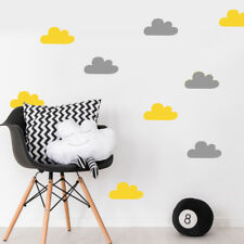60 Baby Nursery Bedroom Cloud Wall Sticker Decals - Colour Options