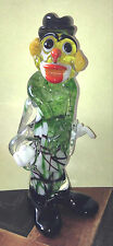 Vintage Glass Clown Art Richters of Westlake Handmade Art Glass 7""