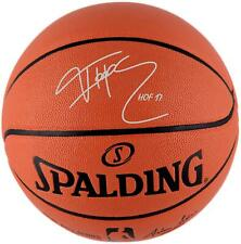 "Tracy McGrady Orlando Magic Signed Spalding Basketball & ""HOF 17"" Insc"