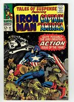 Tales Of Suspense #86 #87 #88 1967 Iron Man And Captain America