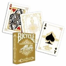 Allure White Deck - Bicycle by Noel Quiles Poker Spielkarten