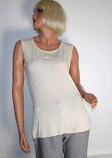 Top vigas camisa de Tayberry azul blanco a rayas S o M