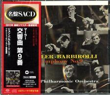 SIR JOHN BARBIROLLI-MAHLER: SYM, 9, : BERNSTEIN...-JAPAN SACD Hybrid G50