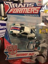 ** 2008 - Transformers Animated - deluxe class Autobot Jazz MOSC **