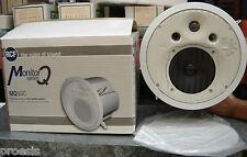 RCF MQ50C-W diffusore bianco incasso bass reflex 2 vie 60W RMS 16 Ω 130.00.081
