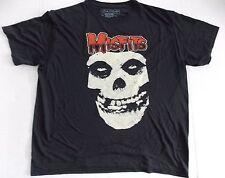 Misfits- NEW Jumbo Skull POLYESTER T Shirt- XLARGE SALE FREE SHIPPING TO U.S.!