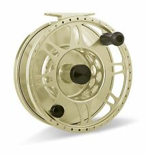 Tibor Pacific Fly Reel, Gold, NEW!  FREE FLY LINE!