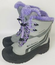 Columbia Sz 7 Boots Waterproof Girls