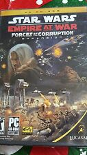 STAR WARS Empire at War Forces of Corruption Expansion PC CD ROM - New open box