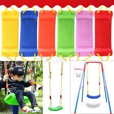 Durable Kids Children Toy Indoor Outdoor Garden Home Swing Seat Adjustable