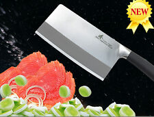 "(ZTP-MT3) Japanese Steel Big Cleaver Chef Vegetable Knife 7.6"" Cutlery Cookware"