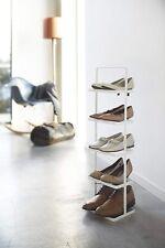 Yamazaki Home Shoe Rack, Tall, White New