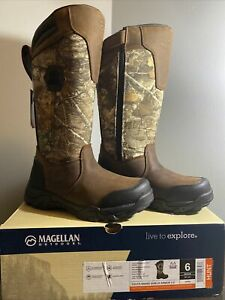 Magellan Outdoors Youth Snake Shield Armor 2.0 Boots, Size 6D