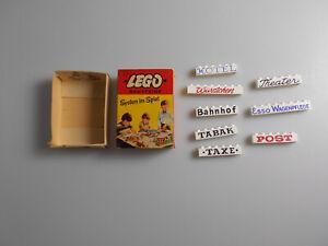 Lego® System Schachtel 226 bedruckte Steine (1)