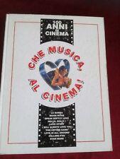 CHE MUSICA AL CINEMA RARO LIBRO SPARTITI 100 ANNI di CINEMA CARISCH ML 1361