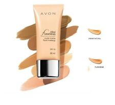 Avon Ideale Impeccabile nudo opaco Fluido Make-Up Foundation ~ CREMOSO naturale ~