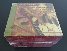 LEGENDARY COMPOSERS A Tresury of Mesterpieces 10 CD Set NEW Sealed 2000 FreeShip