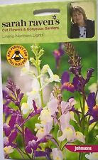 JOHNSONS SEEDS  SARAH RAVEN CUT FLOWER   LINARIA NORTHERN LIGHTS SEED