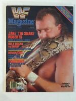 WWF Magazine 1988 February Jake The Snake Roberts Lethal Loner Damien WWE Damien