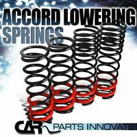 "For Honda 90-97 Accord JDM Suspension 1.5"" Drop COilover Lowering Springs Black"