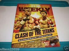 Las Vegas Weekly Mayweather & Pacquiao