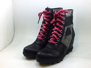 Sorel Women's Shoes Boots, Black, Size 8.5
